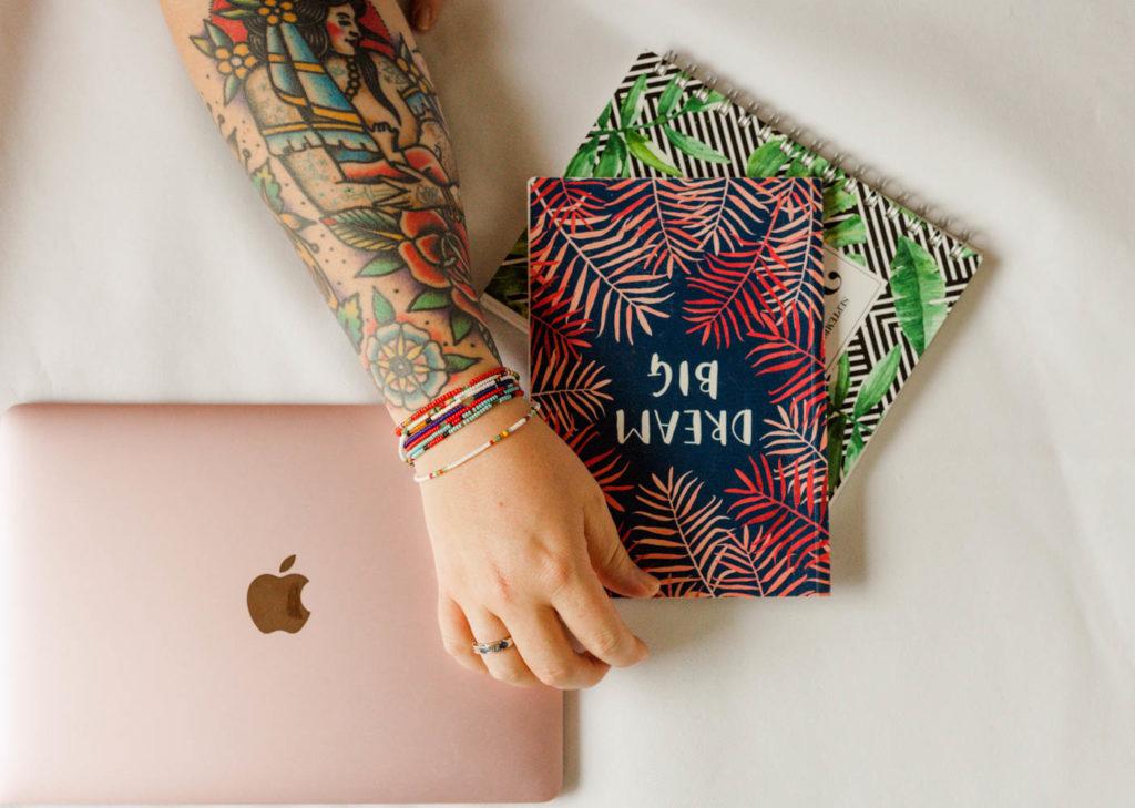 Marissa Waite Creative web design and digital marketing home image.