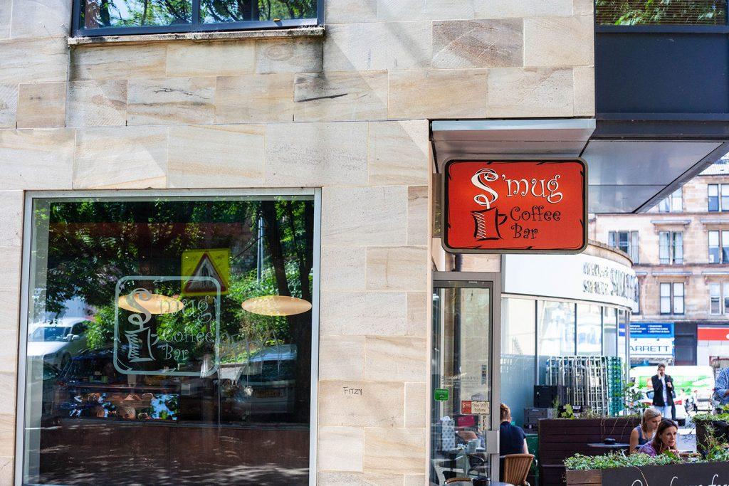 S'mug Coffee bar in Glasgow photography by Marissa Waite, web design by Marissa Waite